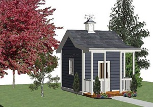 Cottage Playhouse Design
