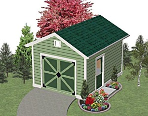 Landscaping Shed Design